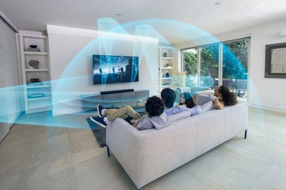 Heimkino in neuer Dimension: Sony präsentiert die 5.1.2-Kanal Dolby Atmos/DTS:X Soundbar HT-A5000