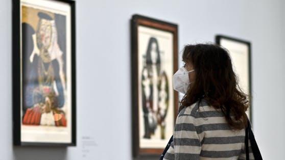 Auch in Museen müssen Ungeimpfte wieder eine FFP2-Maske tragen.