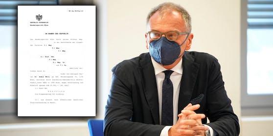 Die Klage gegen Armin Wolf wurde am Handelsgericht Wien abgewiesen.