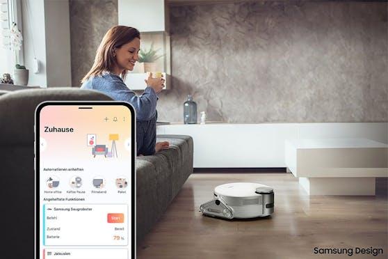 Nutzerinnen und Nutzer von SmartThings können nun auch Home Connect-fähige Geräte über ihr kompatibles Smartphone steuern, ohne dafür eine weitere App herunterladen zu müssen.