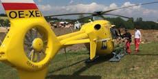 Wespenstich! Mann per Helikopter ins Spital geflogen