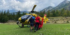 30-Meter-Absturz: Bergretter benötigte selbst Hilfe