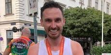 James Cottriall stach beim Marathon den Minister aus