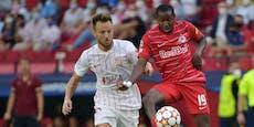 1:1! Salzburg verpasst CL-Sieg bei Elfmeter-Spektakel