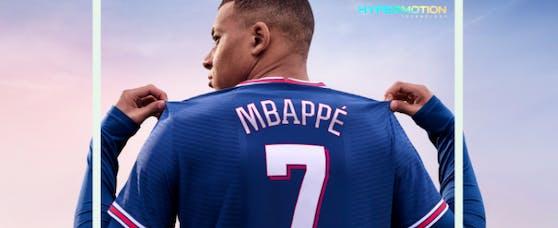 Kylian Mbappe ziert das FIFA-Cover erneut.
