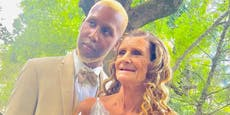 Er 24, sie 61: Zwischen diesem Ehepaar liegen 37 Jahre