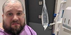 """""""Etwas stimmt nicht"""": Mann nach Game-Marathon im Spital"""