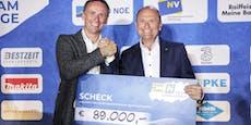 Team Challenge: 89.000 Euro für den Sport-Nachwuchs