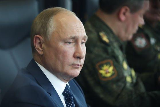 Russlands Präsident Wladimir Putin steht unter Quarantäne.