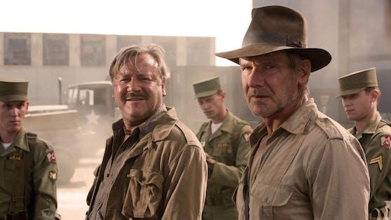"""US-Schauspieler Harrison Ford schlüpft zum fünften Mal in seine Paraderolle des abenteuerlichen Archäologen """"Indiana Jones"""""""
