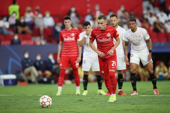 Salzburg verpasste die Sensation in Sevilla.