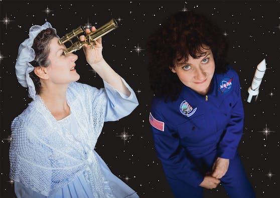 Hier greifen Frauen nach den Sternen: Wegen des großen Publikumsinteresses kommt die Theaterproduktion STERNENFRAUEN erneut auf die Bühne.
