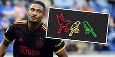 UEFA verbietet Ajax drei kleine Vögel am Trikot