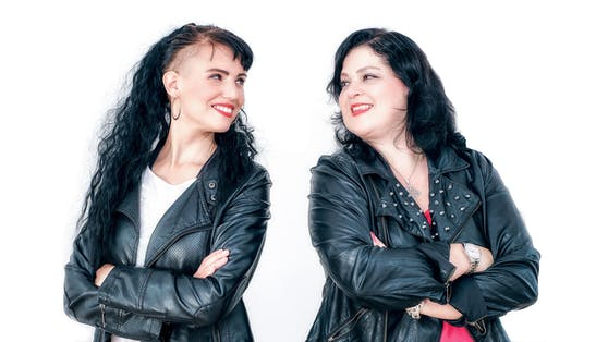 "Sandra E. Mae (links) und Barbara Wiesinger sind die ""Women of Musical""."