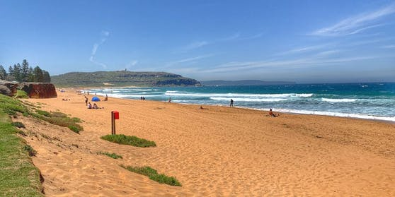 Der Entflohene soll an einem Strand in Dee Why (Sydney) gelebt haben.
