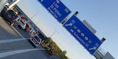 Südautobahn (A2) Richtung Wien nach Unfall gesperrt
