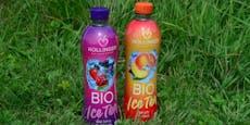 Höllinger Bio Ice Tea-Packages zu gewinnen