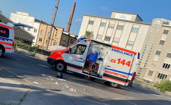 Die Rettung übernahm die notfallmedizinische Versorgung.