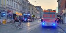 Wien-Ottakring: Müllraum steht in Flammen