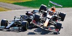 Formel 1 veröffentlicht neue TV-Bilder zu Monza-Crash