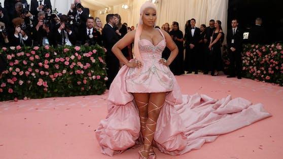 Mit ihren Tweets sorgt US-Rapperin Nicki Minaj derzeit für Schlagzeilen.
