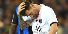 Paris stolpert mit Messi, Mbappe verletzt ausgetauscht
