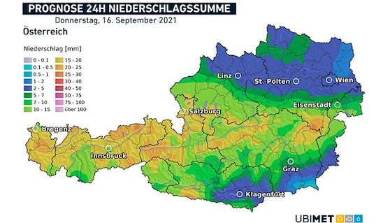 Der Herbst kommt am Donnerstag nach Österreich.