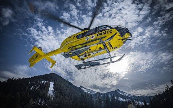 Ein Christophorus-Hubschrauber im Einsatz.