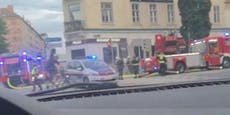 Kellerbrand in Wien – Straßensperre, Gebäude evakuiert