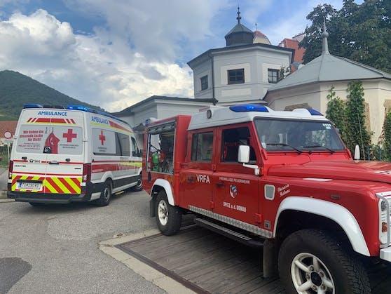 Schwerer Unfall mit Golfcart in Spitz