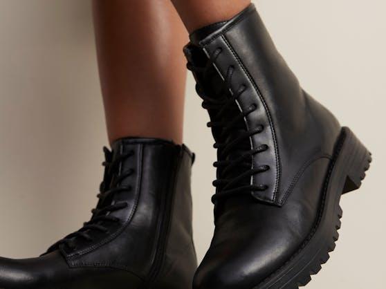 Trend: Klobige Stiefel. Dieses Modell ist von Matalan
