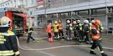 Großbrand legt Verkehr lahm: 57 (!) Staus in Wien