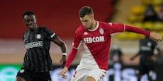0:1 in Monaco! Sturm verliert beim Europacup-Comeback