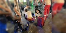 Teenie erleidet Krampfanfall, Wiener helfen ihm sofort