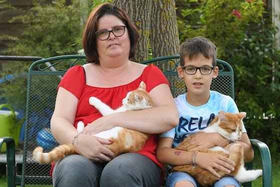 Ein Unbekannter schert seit einer Woche die Katze von Familie Malesardi.