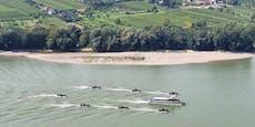Hier braust Ministerin mit acht Booten zu Balkangipfel
