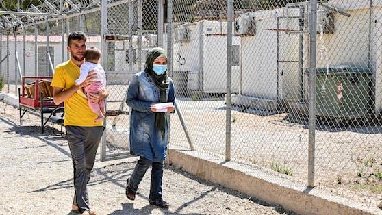 Flüchtlingscamp auf Leros