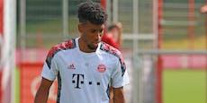 Bayern-Star Kingsley Coman wurde am Herzen operiert