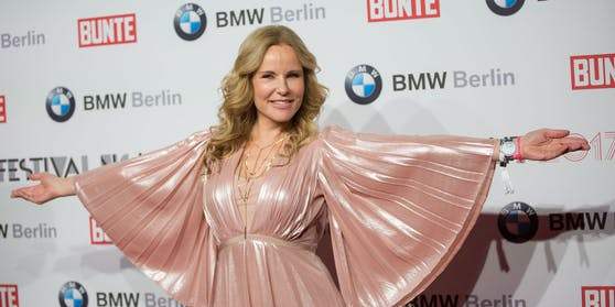 Katja Burkhard bei der Festival Night von Bunte und BMW in der Gendarmerie im Rahmen der 67. Berlinale in Berlin (Archivfoto)