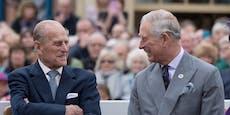 Das waren die letzten Worte von Prinz Philip an Charles