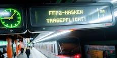 """FFP2-Maskenkontrollen in Öffis sind """"Mammutaufgabe"""""""