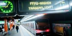Wiener Linien schmissen 15.000 Masken-Gegner aus Öffis