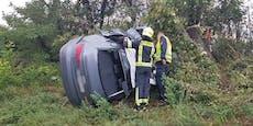 Frau (29) kracht nach Unfall auf A2 in Baumstamm – tot