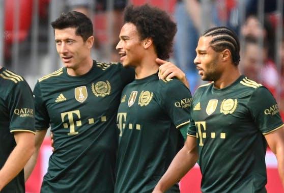 Die Bayern feiern einen klaren Erfolg gegen Bochum.