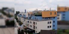 Zimmerbrunst in Floridsdorf – Mann flüchtet auf Balkon
