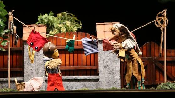 Ab 9. Oktober sind Kasperl und Pezi wieder auf der Bühne zu bewundern