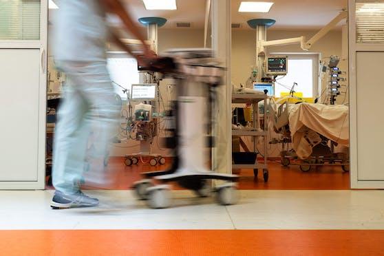 Die Zahl der Corona-Patienten in den heimischen Spitälern steigt immer weiter.