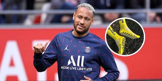 Sogar Superstar Neymar setzt auf Austro-Socke.