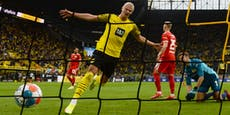 Dortmund bleibt dank Haaland-Doppelpack an Bayern dran