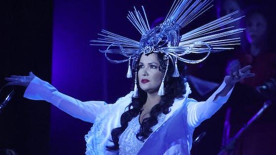 Eine Diva wird 50: Sogar der russische Präsident würdigte Anna Netrebko.